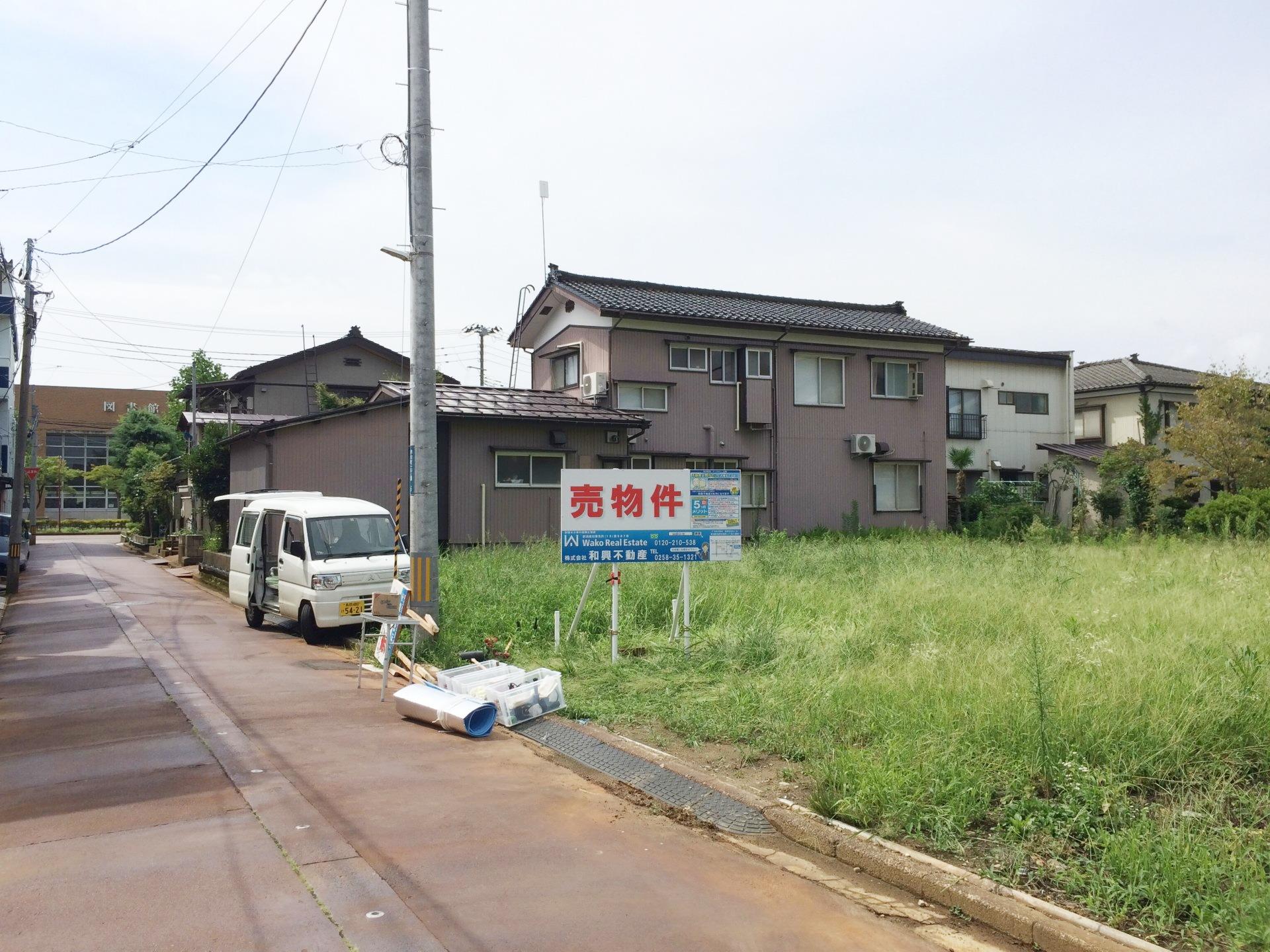 長岡不動産分譲地02